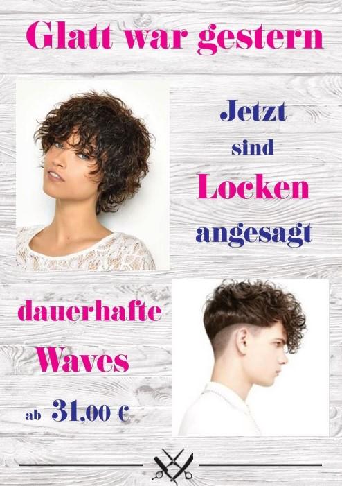 Dauerhafte Waves